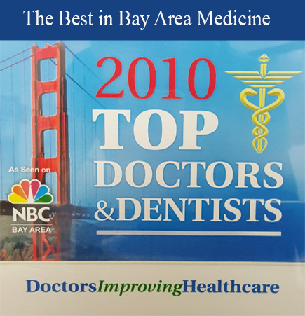 Bay Area Top Doctors & Dentist Award Banner